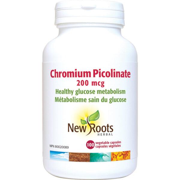 Chromium Picolinate 200mcg  100capsules