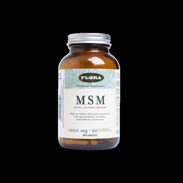 MSM Methylsulfonylmethane 1000 mg 180 capsules