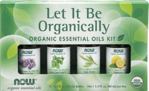 Let It Be Organically EO Kit 4*10mL