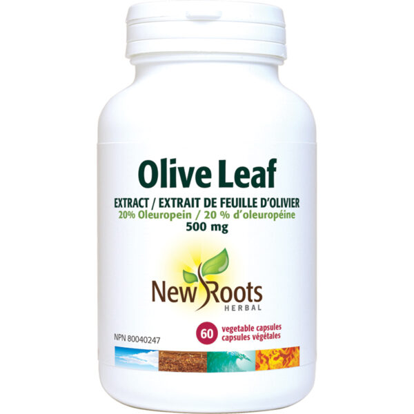 Olive Leaf Extract 500mg  60capsules