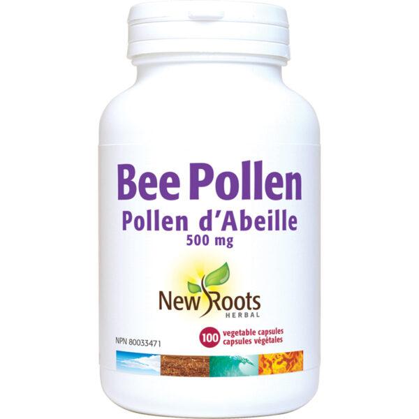 Bee Pollen 500mg per Capsule 100capsules