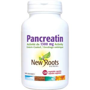 Pancreatin 1300mg Activity 120capsules