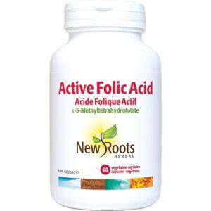 Active Folic Acid 60capsules