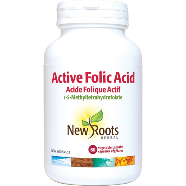Active Folic Acid  60 capsules