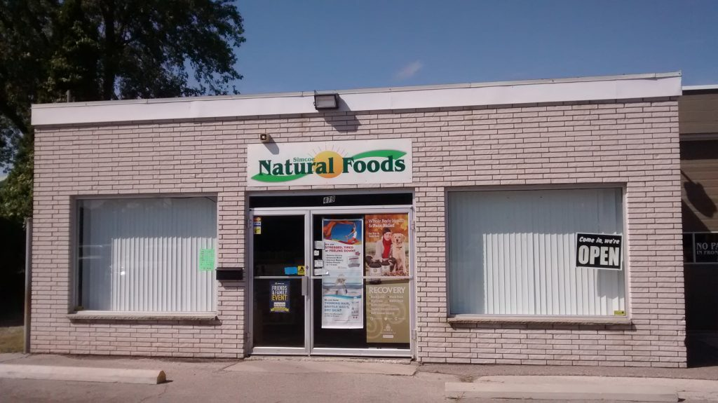 Simcoe Natural Foods Storefront
