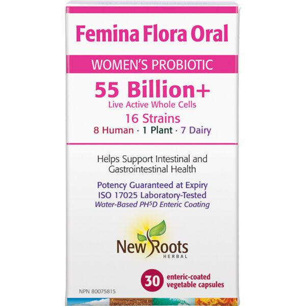 Femina Flora Oral Women's Probiotic 30 capsules