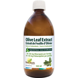 Olive Leaf Extract (Liquid) 95-–130 mg Oleuropein per Serving