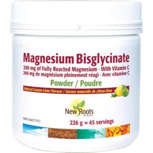 Magnesium Bisglycinate Fully Reacted Magnesium · With Vitamin C