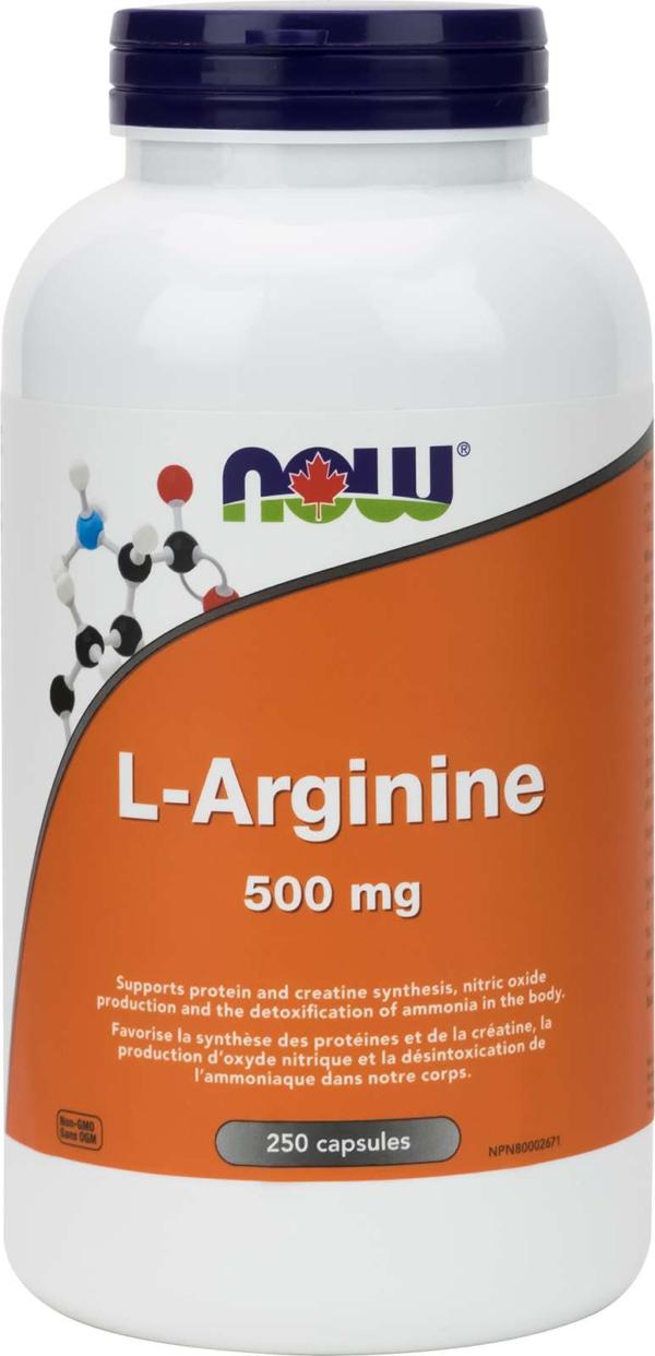 L-Arginine 500mg (FreeForm) 250cap