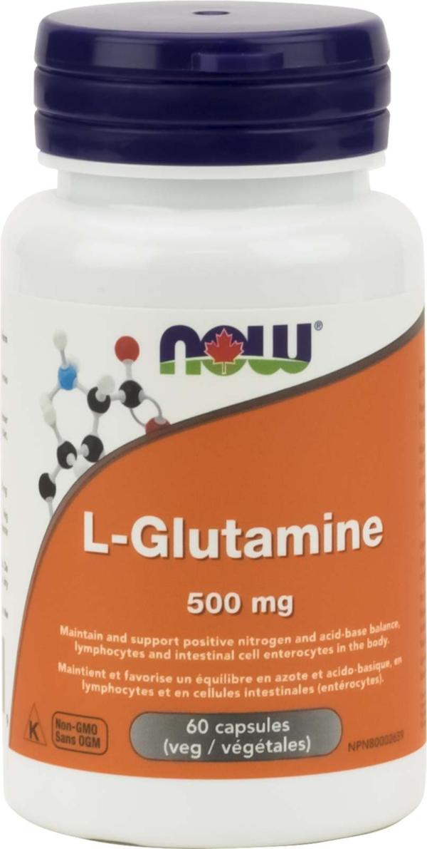L-Glutamine 500mg Free Form