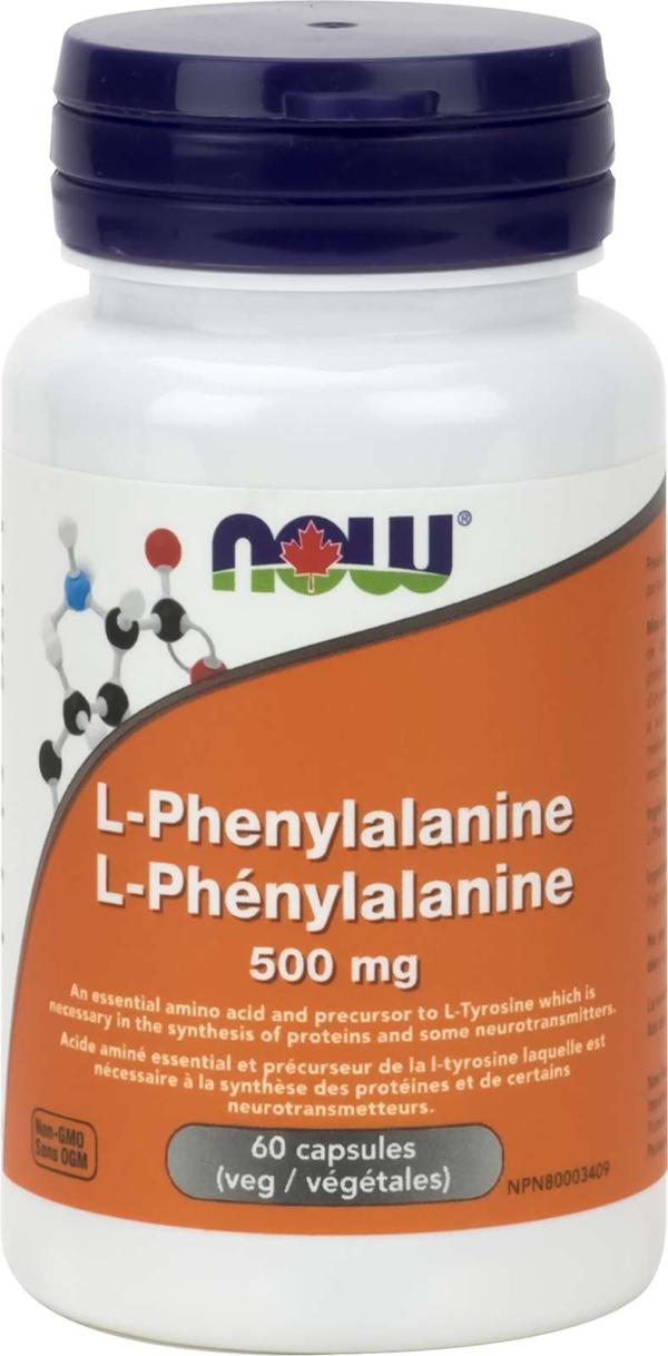 L-Phenylalanine 500mg   60vcap