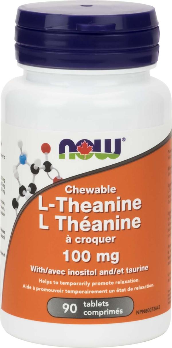 L-Theanine 100mg Plus Chew 90tab