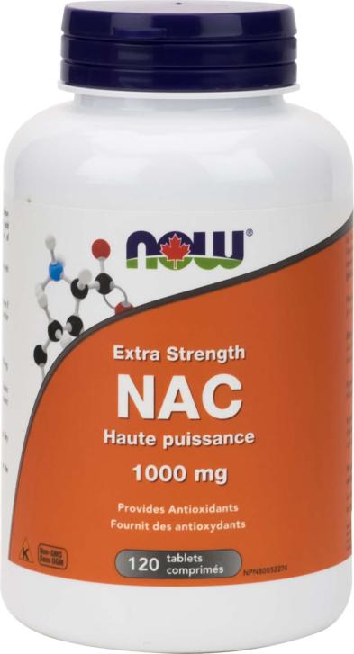 NAC 1000mg Extra Strength 120tab