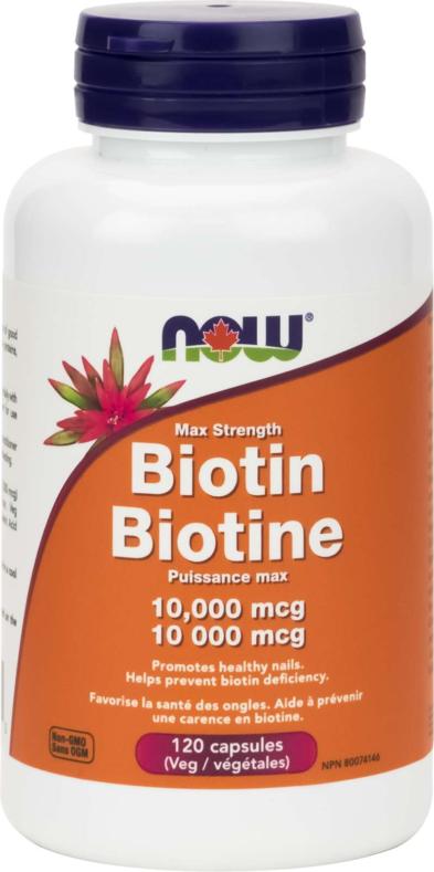 Biotin 10,000mcg 120vcap
