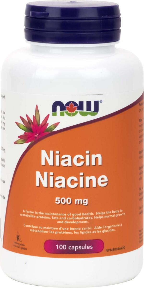 Niacin 500mg 100cap