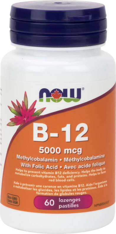 B-12 Methyl form 5000mcg 60Loz