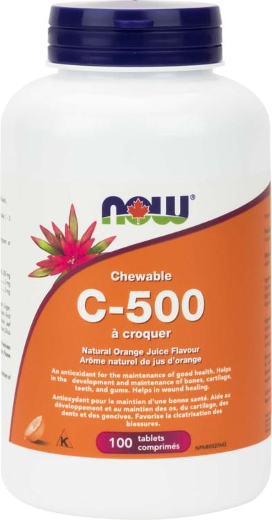 C-500 Orange Chewable 100Loz