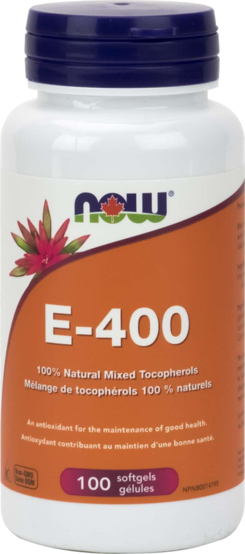 E-400 IU Mixed Tocopherols 100gel