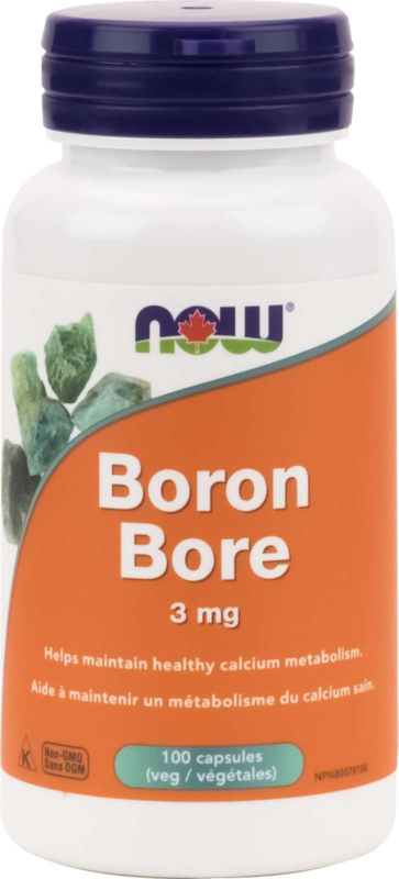 Boron (Glycinate) 3mg 100vcap
