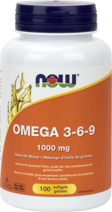 Omega 3-6-9 1000mg (seed) 100gel