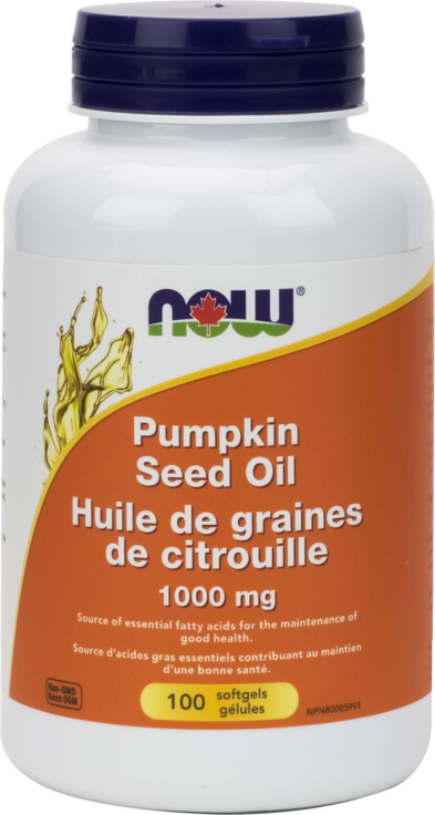 Pumpkin Oil 1000mg 100gel