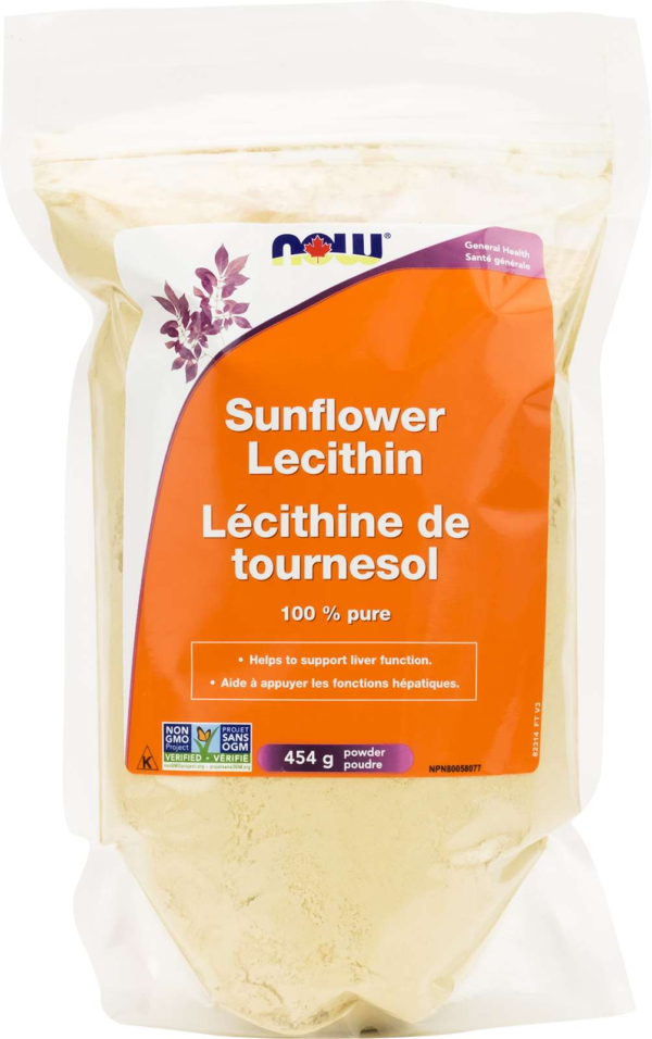Sunflower Lecithin Powder Non-GMO 454g
