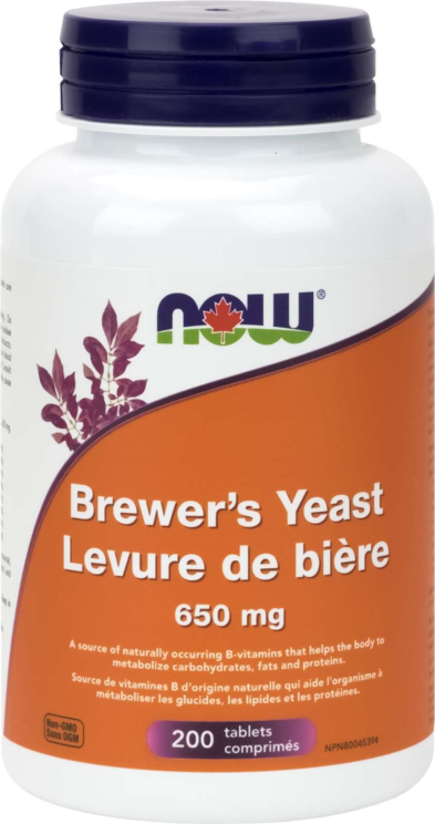 Brewer's Yeast 650mg 200tab