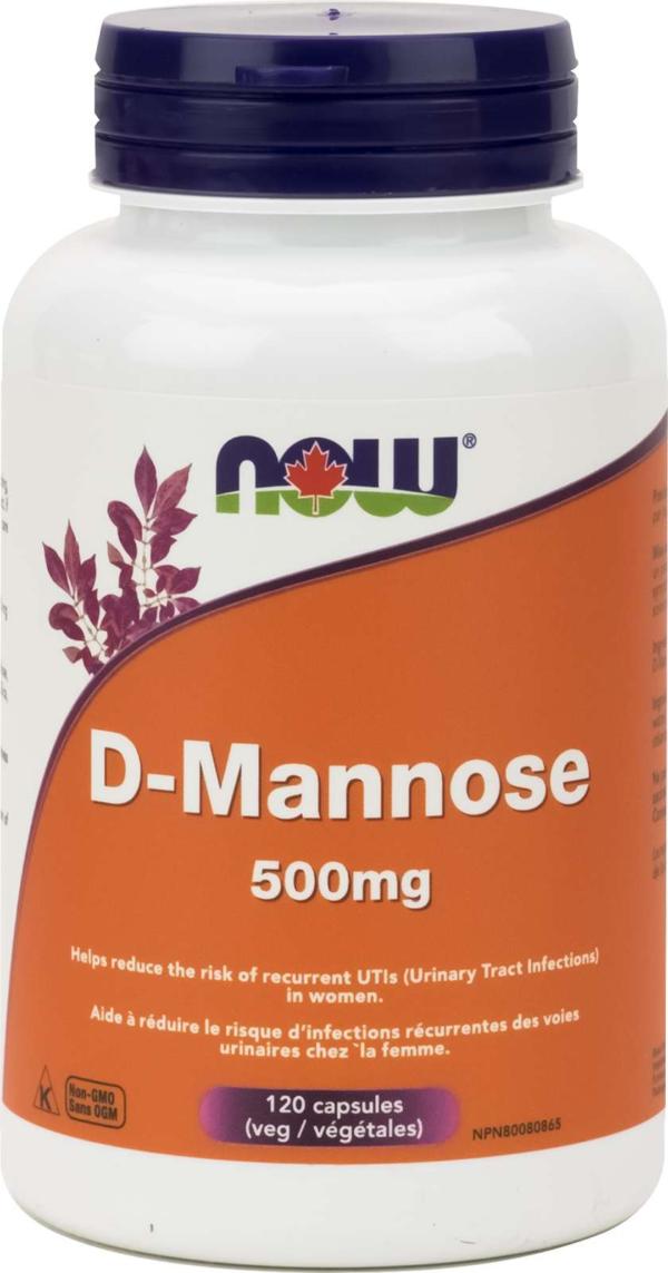 D-Mannose 500mg 120vcap