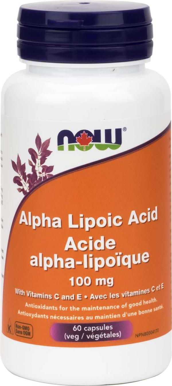 Alpha Lipoic Acid 100mg + Vit E, Vit C 60vcap