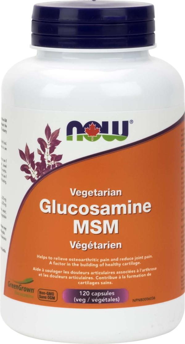 Vegetarian Glucosamine & MSM (500 / 333) 120vcap
