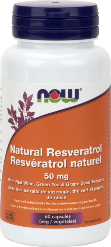 Resveratrol Natural 50mg+ 60vcap