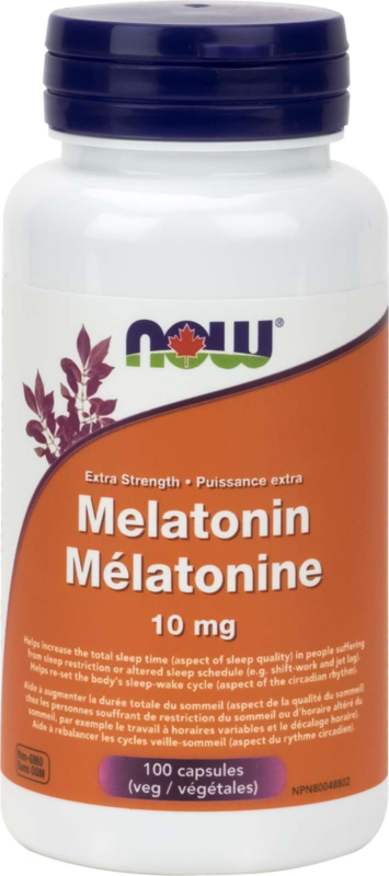 Melatonin Extra Strength 10mg 100vcap