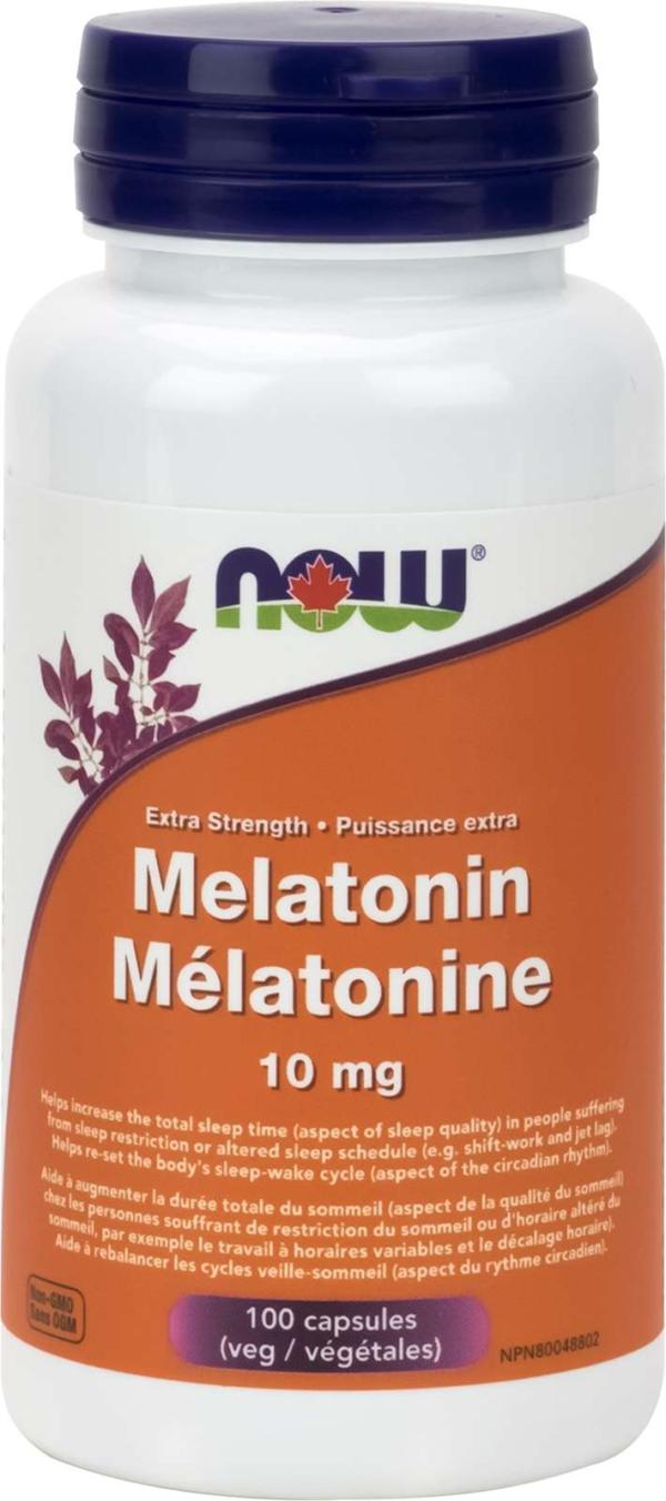 Melatonin Extra Strength 10mg 100vcap