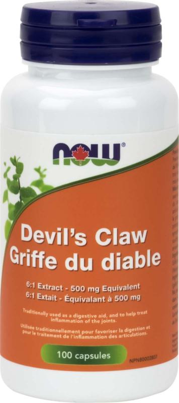 Devil's Claw Root 6:1 500mg 100cap