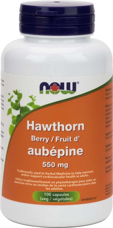 Hawthorn Berry 550mg 100vcap