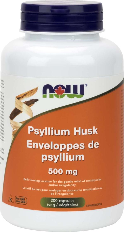 Psyllium Husk 500mg 200cap