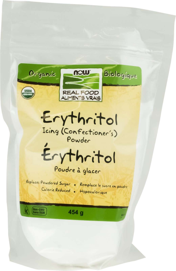 Organic Erythritol Icing (Confectioner's) Powder 454g