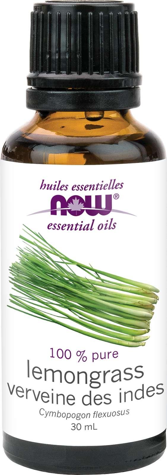 Lemongrass Oil (Cymbopogon flexuosus) 30mL