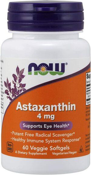 Astaxanthin 4mg 60 caps