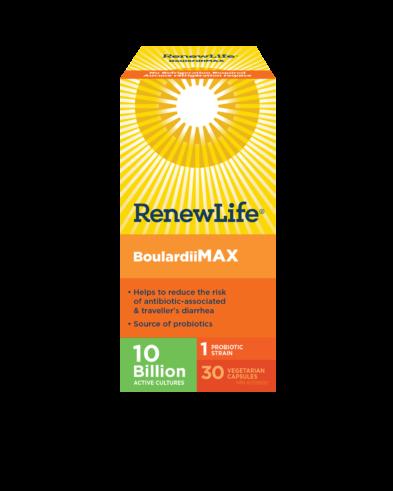 Renew Life® BoulardiiMAX 30 Capsules