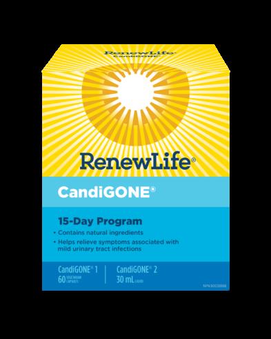 Renew Life® CandiGONE®, 15 Day Program, 1 Kit