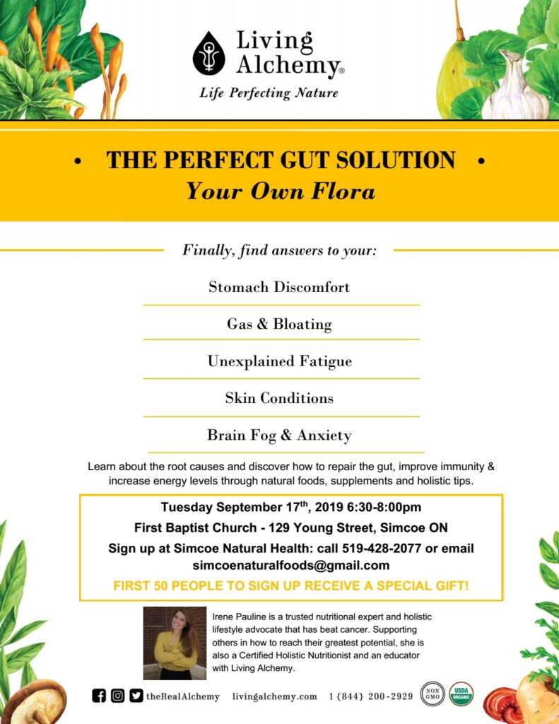 Free Seminar - The Perfect Gut Solution