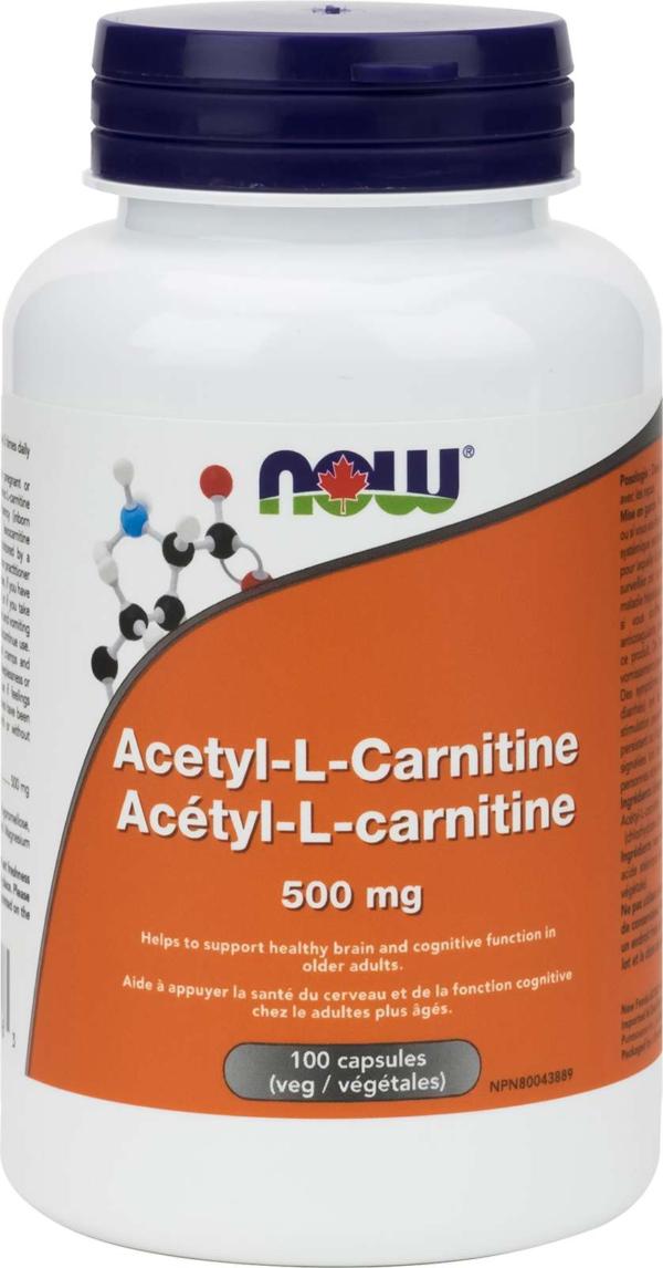 Acetyl L-Carnitine 500mg 100vcap