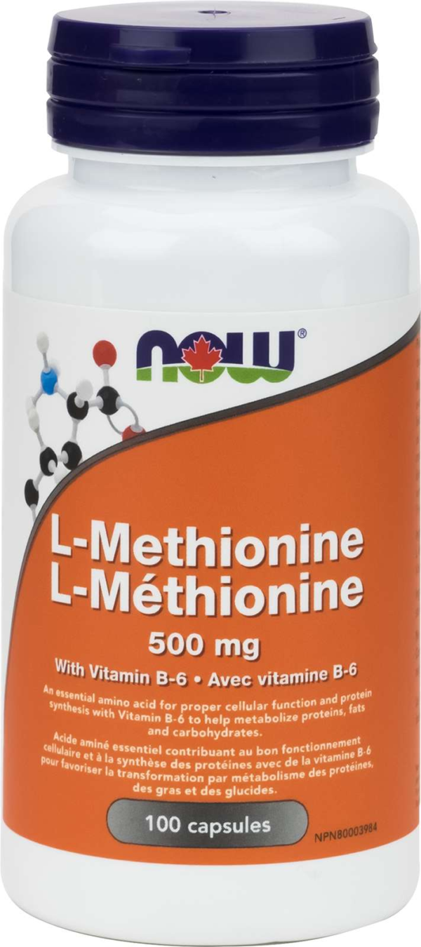 L-Methionine 500mg 100cap