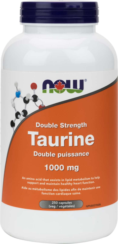 Taurine 1000mg 250vcap