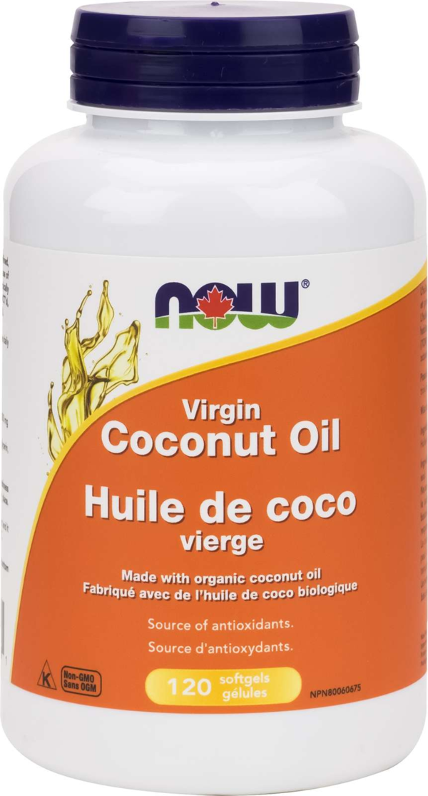 Virgin Coconut Oil  1000mg 120gel