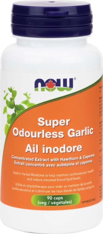 Super Odourless Garlic 90vcap
