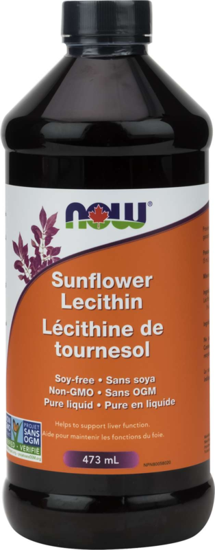 Sunflower Liquid Lecithin Non-GMO 473mL