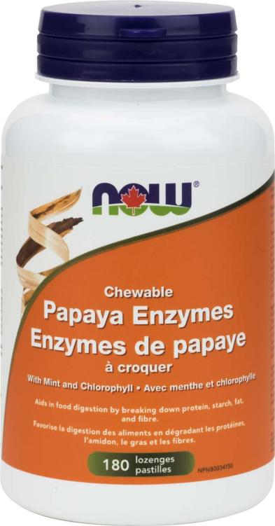 Papaya Enzyme Chewable 180Loz