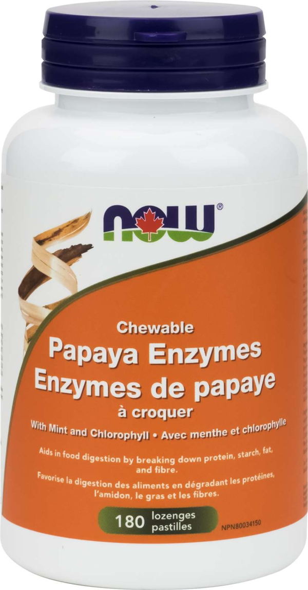 Papaya Enzyme Chewable 180Loz